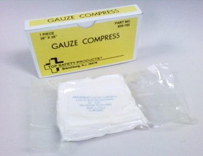 Compresses stériles