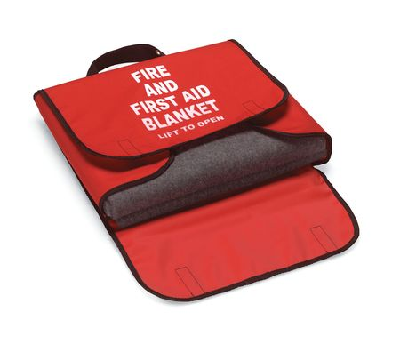 Fire And First Aid Blanket 90 Lightweight Wool 62 Quot X 80 Quot