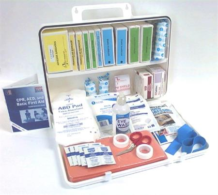 Ansi 2015 Class B First Aid Kit In 36 Unit Hips Cabinet