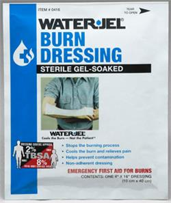 "WATER-JEL Burn Dressing 4"" x 16"""