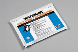 "WATER-JEL  36"" x 30"" Burn Wrap  (in pouch)"