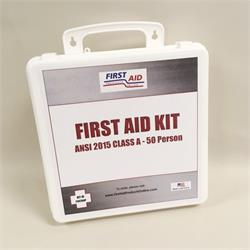 ANSI 2015 First Aid Kit (Class A+) 50 Person, Economy Bulk Contents