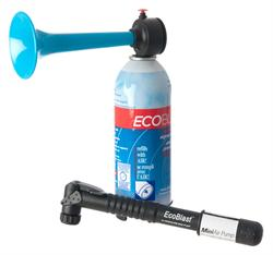 ECOBLAST - rechargeable signal air horn and hand pump