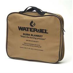 5' x 6' Tactical Burn Blanket Water-Jel (1 pouch per bag), Case of 4