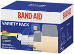 J & J Band-Aid® Brand Adhesive Bandages, Variety Pack, 280 Count