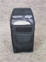 Black 4 Pocket Holster Case w/ CPR Pocket Mask, Gloves & Wipe