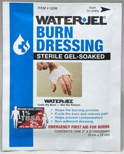 "WATER-JEL Burn Dressing 2"" x 6"""