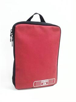 "Compact Red Nylon Case, Size: 6"" x 8"" x 2"""