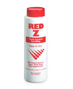 Red Z Fluid Control Solidifier, 5 oz. Shaker Top Bottle