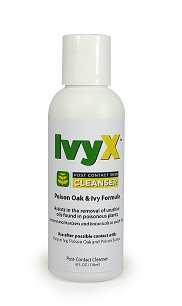 Ivy X  Post-Contact Cleanser - Bottle