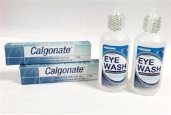 2 Calgonate Gel and 2 Standard Sterile Eyewash