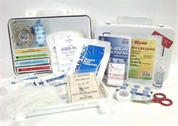 Contents of ANSI 2015 Class A First Aid Kit, #F44500