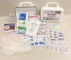 ANSI 2015 First Aid Kit (Class A) 10 Person, Economy Bulk Contents