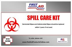 Universal Spill Care Kit #F447658