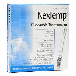 NexTemp® Disposable Thermometer - Box 100