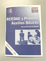 First Aid Guide - Spanish