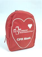 Combo CPR Pocket Mask Kit (in red nylon bag)