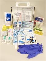 #F44347A  HF First Aid Kit w/ 2 Tubes Calgonate® Gel - ANSI 2015 Class A